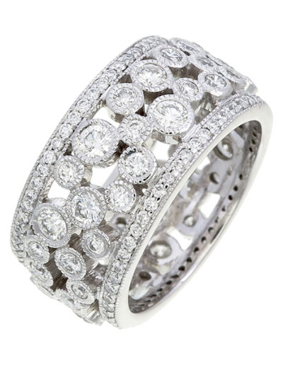 Florence ring Diamonds F VVS1 2.00 cts
