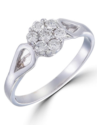 Virginie Ring , Diamonds 0.35 ct
